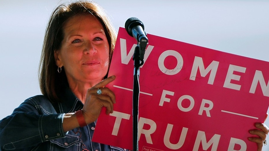 Former House Rep. Michele Bachmann said Monday that she won't run for U.S. Senate, despite previous suggestions she might run for former Sen. Al Franken's seat.