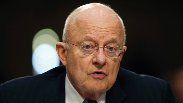 FILE - In this Feb. 9, 2016 file photo, Director of the National Intelligence James Clapper speaks on Capitol Hill in Washington. Clapper said Wednesday,May 18, 2016, that the U.S. has already seen evidence that cyber hackers, possibly working for foreign governments, are snooping on the presidential candidates, and government officials are working with them to tighten security as they expect the problem to grow as the campaigns intensify. (AP Photo/Alex Brandon, File)