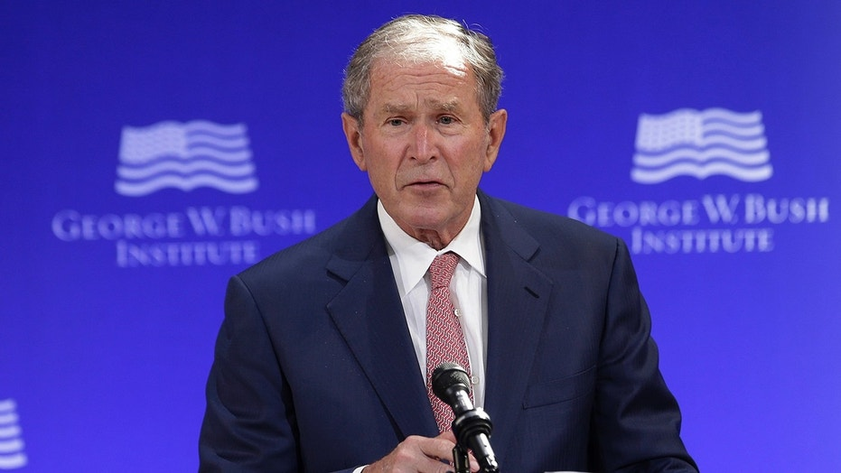 Image result for George Bush: 'Pretty clear evidence Russia meddled' in US election