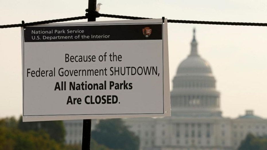 A shutdown occurs when Congress and the president fail to sign into law 12 appropriations bills to continue providing funding for government operations.