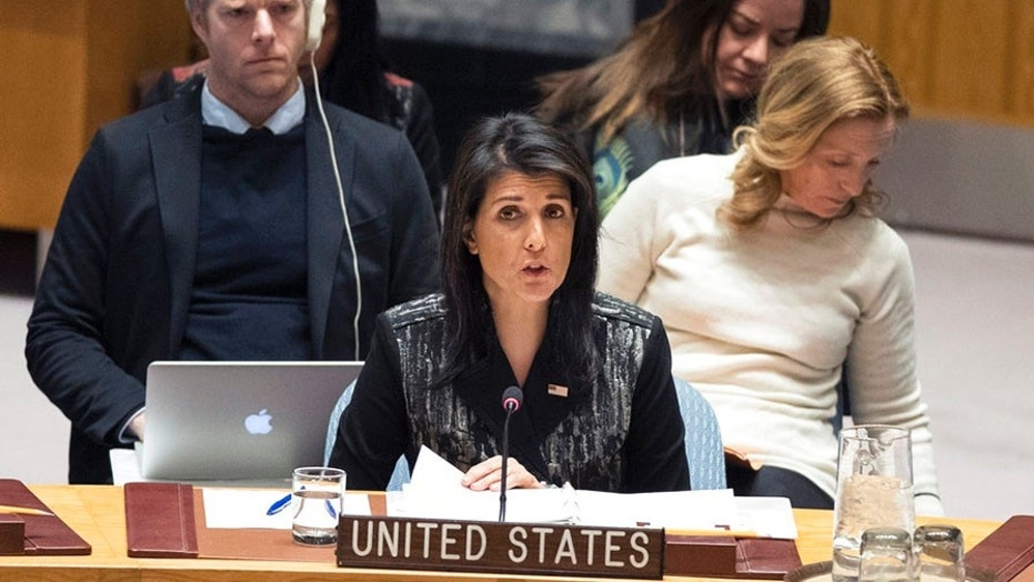 Nikki Haley called for the Security Council to act in the wake of a damning UN report on Yemen.