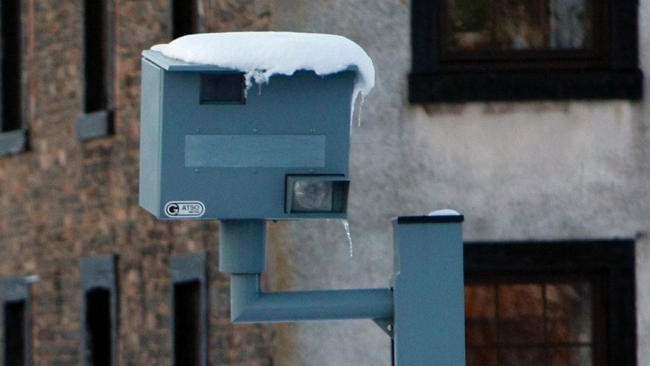 Nearly a dozen speed cameras were taken out overnight in D.C., police say.
