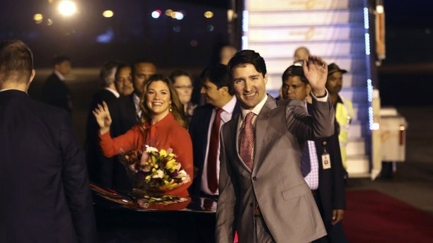 Trudeau India trip AP