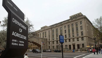 The U.S. Department of Agriculture is seen in Washington, March 18, 2012.   REUTERS/Gary Cameron   (UNITED STATES) - WM1E83I15Z101