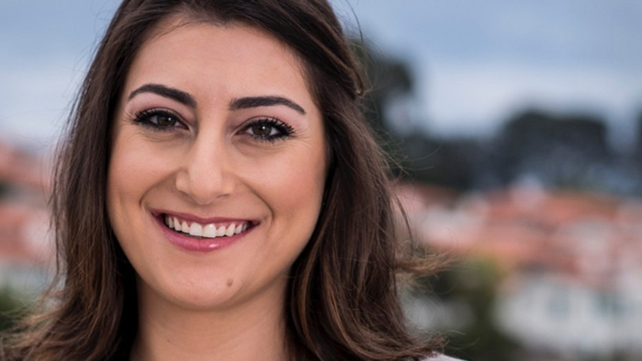 Sara Jacobs is under fire for comments she appeared to make about a fellow Marine candidate.