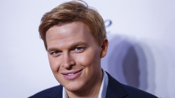Television personality Ronan Farrow arrives for the opening night of the Women in the World summit in New York April 22, 2015. REUTERS/Lucas Jackson  - RTX19W5D
