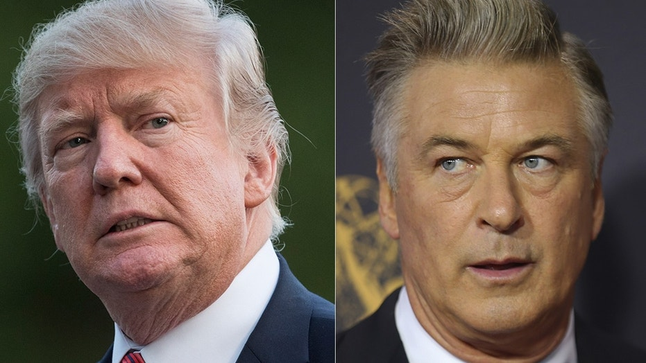"""The agony and the agony: President Trump is not a fan of Alec Baldwin's """"Saturday Night Live"""" portrayal of him."""
