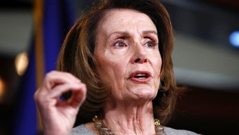 """FILE - In this Thursday, Feb. 8, 2018, file photo, House Minority Leader Nancy Pelosi, of California, speaks to the media on Capitol Hill in Washington. Conor Lamb, a congressional candidate in Pennsylvania, is doubling down on his rejection of Pelosi and telling voters it's """"a big lie"""" for Republicans to say he'd be her stooge. (AP Photo/Jacquelyn Martin, File)"""