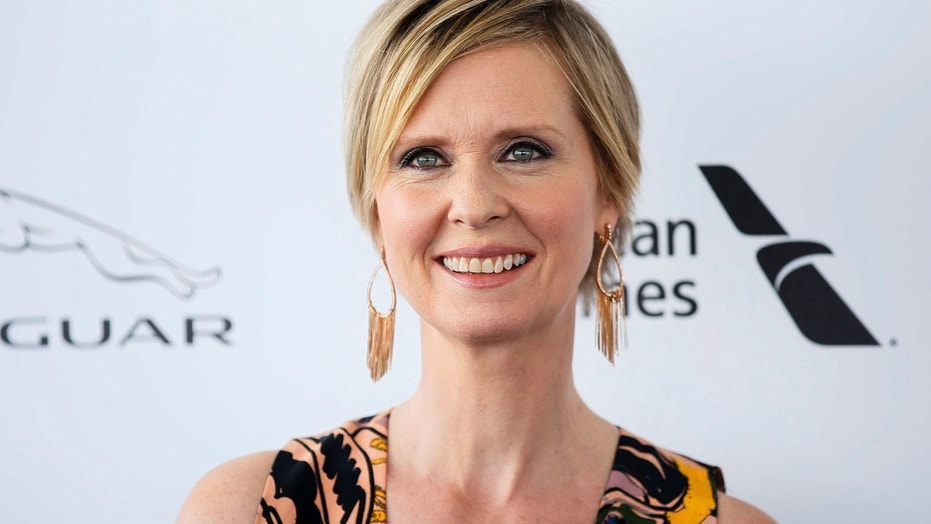 Actress Cynthia Nixon arrives at the 31st Independent Spirit Awards in Santa Monica, Calif., Feb. 27, 2016.