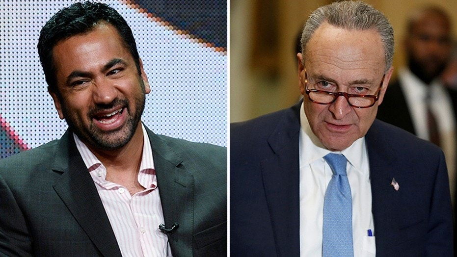 Former Obama aide Kal Penn wants Schumer 'out of office' after pro-Israel speech