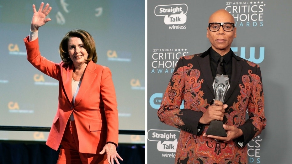 "House Minority Leader Nancy Pelosi made a cameo appearance on ""RuPaul's Drag Race"" on Thursday, March 8, 2018."