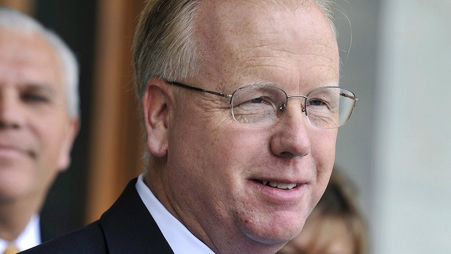 Danbury Mayor Mark Boughton , who is running for governor in Connecticut, was rushed to a hospital after collapsing during a meet-and-greet event.