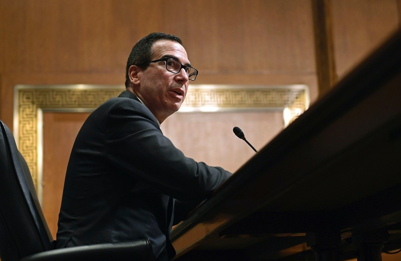 Report on Mnuchin's travel expenses is misleading, Treasury Dept. says