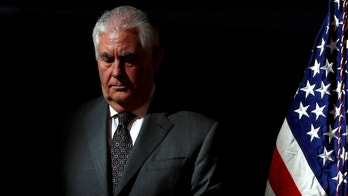 FILE PHOTO: U.S. Secretary of State Rex Tillerson participates in the first meeting of the U.S. National Space Council at the National Air and Space Museum's Udvar-Hazy Center in Chantilly, Virginia, U.S. October 5, 2017.  REUTERS/Jonathan Ernst/Files - RC19C19ED550