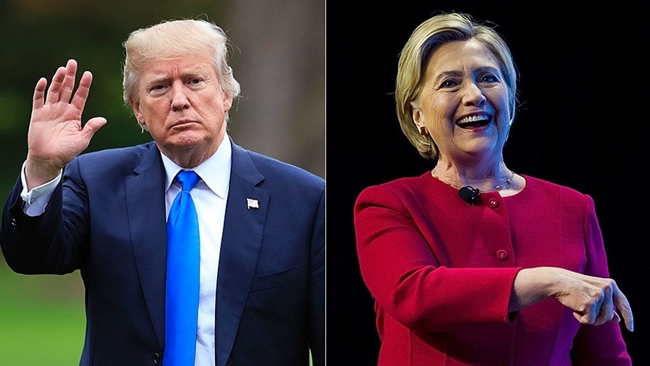Donald Trump and Hillary Clinton are looming over the upcoming 2018 Virginia Senate race.