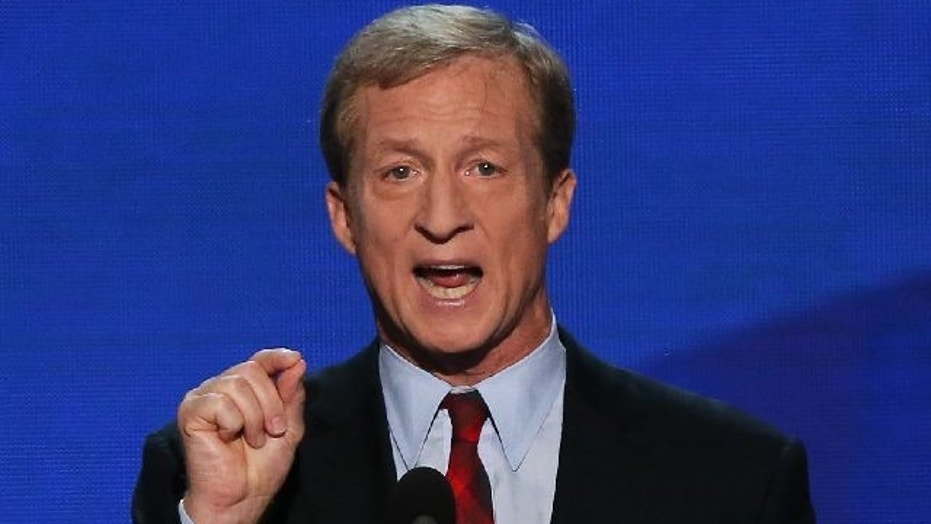 Tom Steyer has been pressing the impeachment issue.