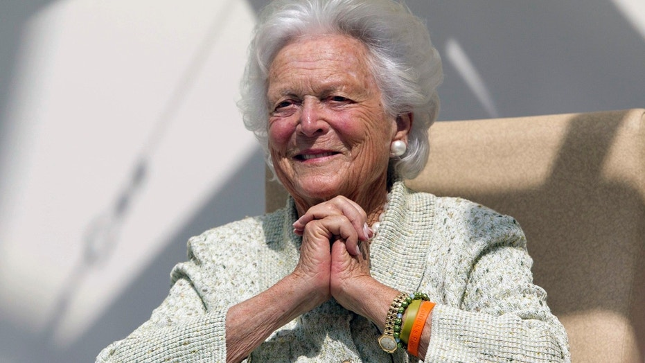 Barbara Bush, pictured in 2013, has been treated for decades for Graves' disease.