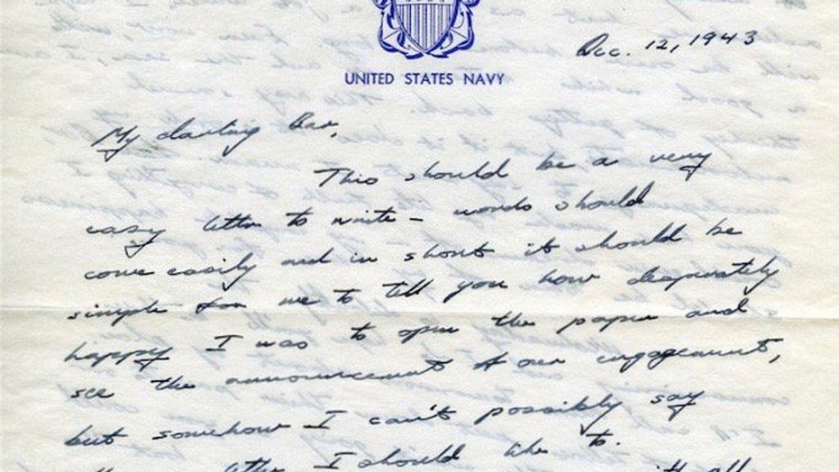 Love Letter From George Hw Bush To Barbara From Ww Goes Viral  Fox