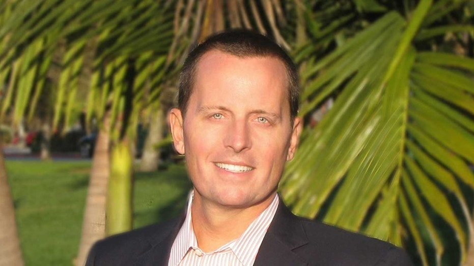 Richard Grenell was nominated by President Trump to be ambassador to Germany. But his Senate confirmation – along with several others -- has been held up by Democrats.