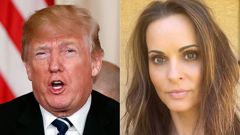 """Former Playboy model Karen McDougal said she is now """"able to tell the truth about my story when asked"""" after reaching a settlement with a tabloid magazine that bought the rights to her story about an alleged affair with President Trump."""