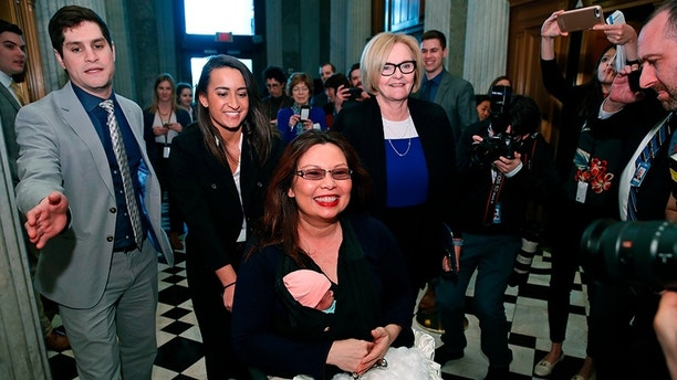 Tammy Duckworth Brings Baby To Work First Infant Inside