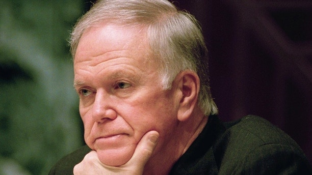 Sen. Bob Packwood (R-Ore.), ranking Republican on the Senate Finance Committee listens during a hearing on Capitol Hill in Washington, March 10, 1994. Packwood, battered for months by sexual misconduct allegations, is taking a combative stance with the news media and his accusers, to rescue his 25-year Senate career. (AP Photo/John Duricka)
