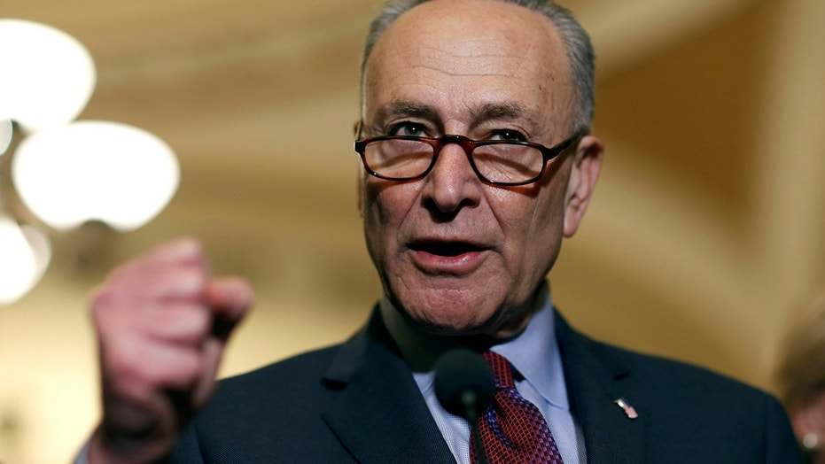 Sen. Chuck Schumer, D-N.Y., expressed his support for marijuana decriminalization.
