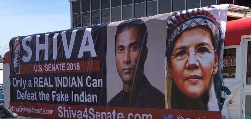 Real Indian Running Against Sen Elizabeth Warren Sues
