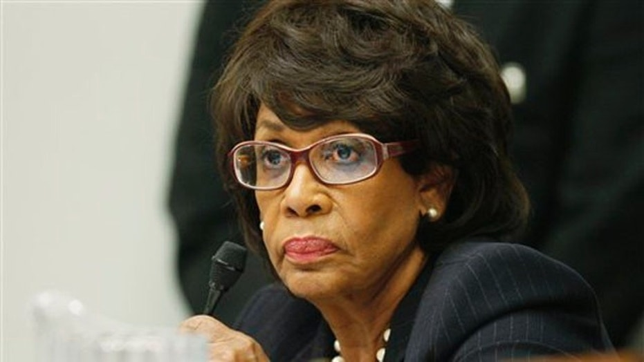 Congresswoman Maxine Waters, who has long called for Trump's removal from office, said at the TIME 100 Gala Tuesday night that she wants him to resign.