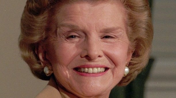 In this Aug. 30,1994 file picture, former first lady Betty Ford talks with reporters at the Old Executive Building in Washington D.C. On Friday, July 8, 2011, a family friend said that Ford had died at the age of 93.