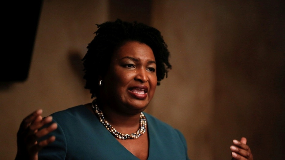 Stacey Abrams, 44, is a Democratic candidate running for governor in Georgia's upcoming gubernatorial election.