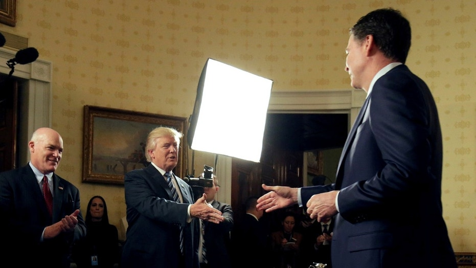 While President Trump has publicly lambasted his former FBI chief, not everything he's said about James Comey has been negative.