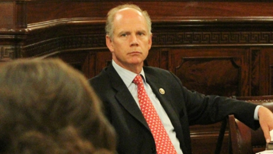 Rep. Dan Donovan, R-NY, is one of several representatives who bunk overnight in their offices.