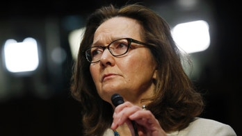Acting CIA Director Gina Haspel testifies at her Senate Intelligence Committee confirmation hearing on Capitol Hill in Washington, U.S., May 9, 2018. REUTERS/Kevin Lamarque - HP1EE5917JEXL