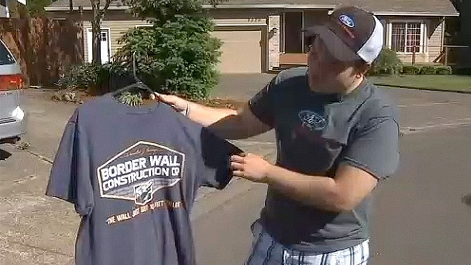 Addison Barnes is suing after being asked by his high school in Oregon to cover up a Donald Trump shirt he was wearing or go home.