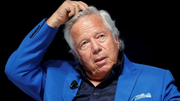 New England Patriots owner Robert Kraft attends a conference at the Cannes Lions Festival in Cannes, France, June 23, 2017.   REUTERS/Eric Gaillard - RC114C965020