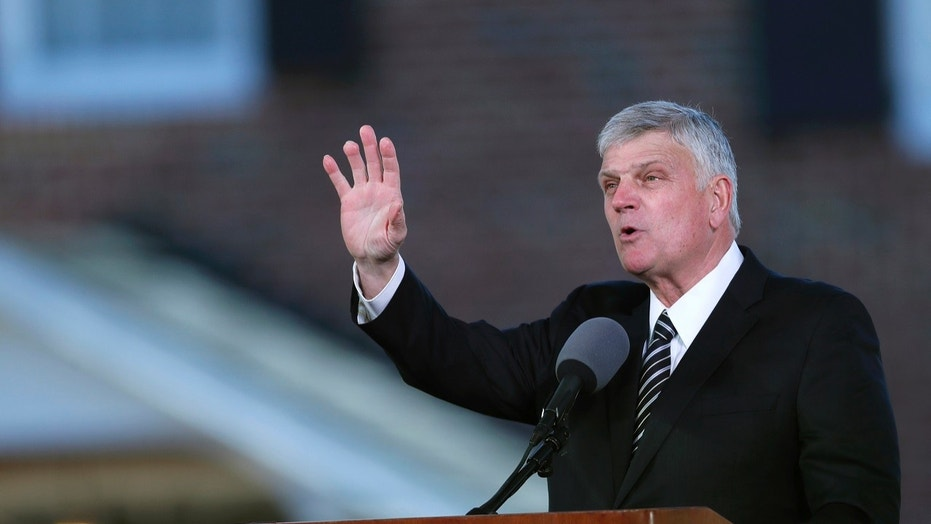 Evangelist Franklin Graham is on a tour of California where he encourages Christians to vote and help blush the state before the upcoming elections.