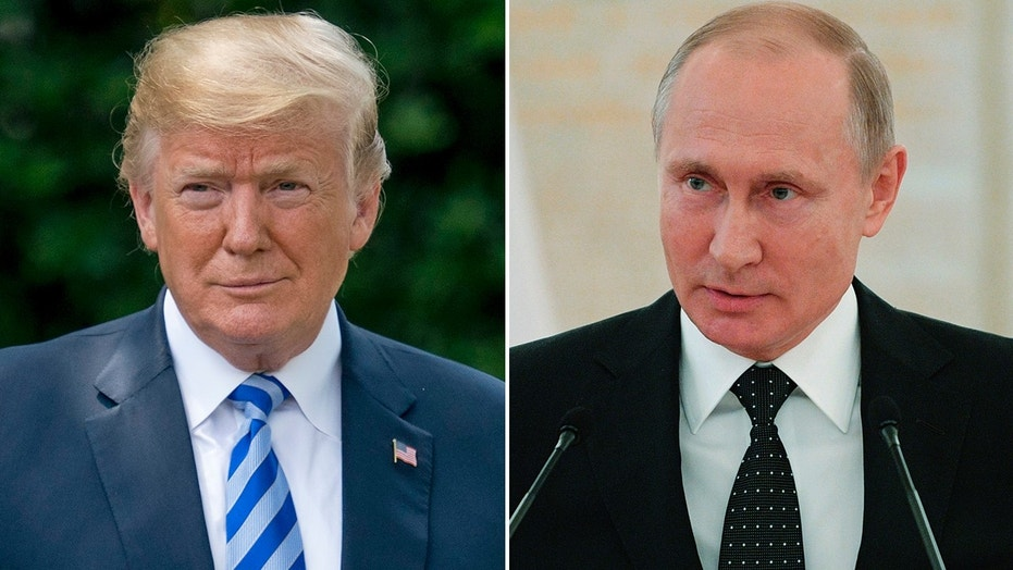 A meeting between President Trump and Russian President Vladimir Putin is reportedly in the works.