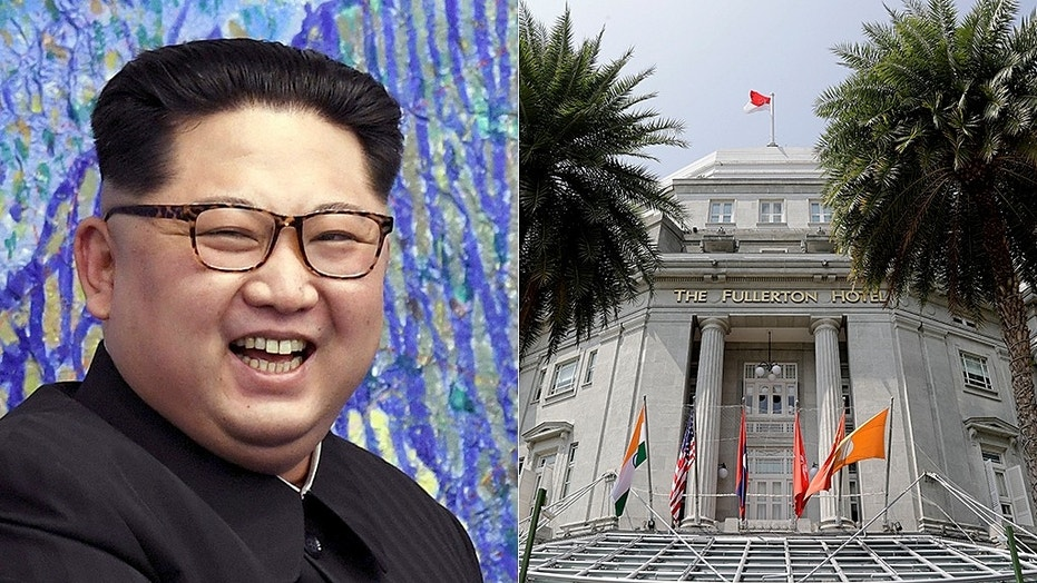 North Korean leader Kim Jong Un reportedly wants to stay at the Fullerton Hotel in Singapore.