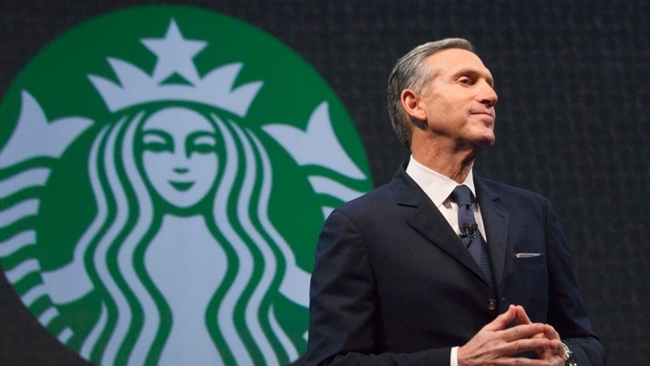 Outgoing Starbucks CEO Howard Schultz has been criticized by Sen. Bernie Sanders, I-Vt., over his comments on a healthcare system fully funded by the government.