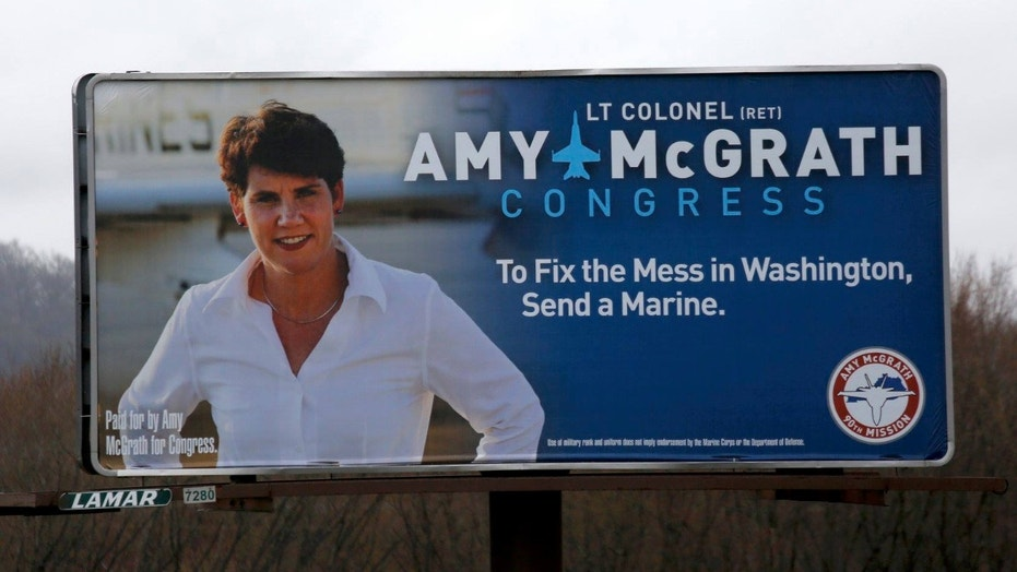 Amy McGrath, a Democratic U.S. House hopeful from Kentucky compared the election of President Donald Trump to the September 11, 2001 terror attacks.