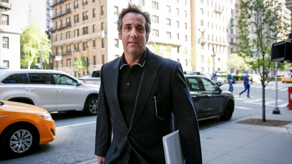 U.S. President Donald Trump's personal lawyer Michael Cohen arrives at his hotel in New York City, U.S., May 9, 2018. REUTERS/Brendan McDermid - RC1F552A4C80