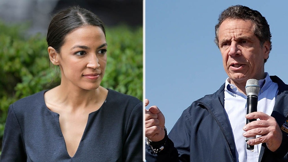 "New York Gov. Andrew Cuomo reportedly said newcomer Alexandria Ocasio-Cortez defeated incumbent Rep. Joe Crowley because she gained support from a community ""that is afraid, that is angry."""