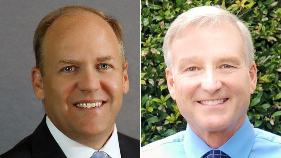 Georgia State Rep. Dan Gasaway (left) is hoping for a new election after his primary loss to Chris Erwin in May. An unknown number of Habersham County residents received the wrong district ballot when they went to vote in the primary.