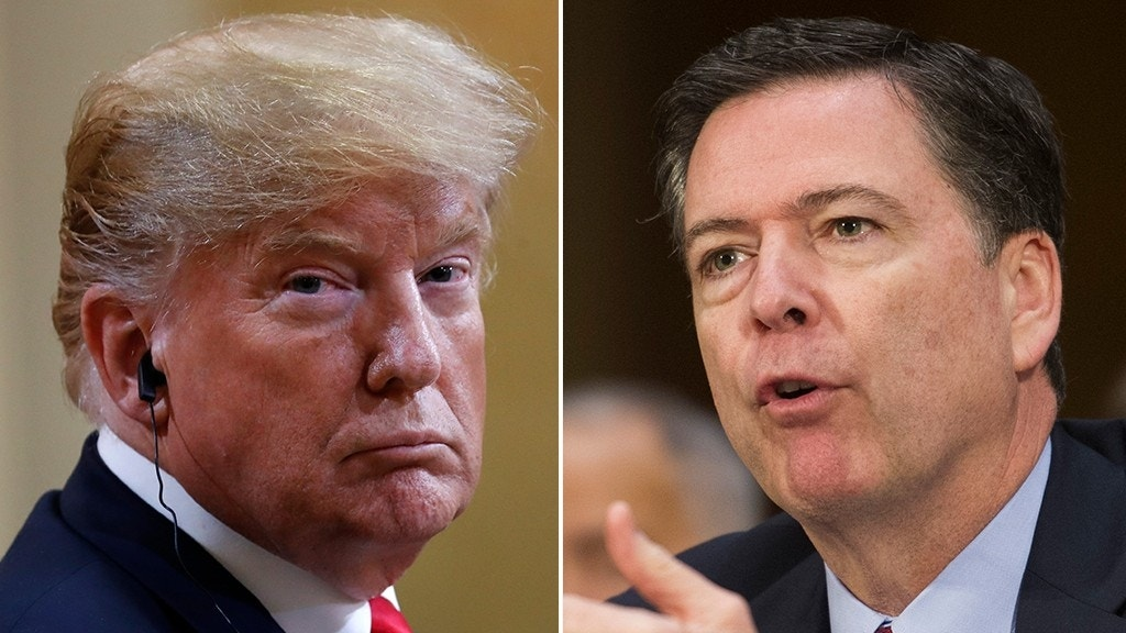 James Comey calls on 'patriots' to 'stand up and reject' Trump's behavior after Putin summit