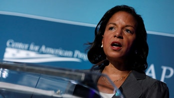 Former National Security Advisor Susan Rice speaks at the Center for American Progress Ideas Conference at the Four Seasons Hotel in Washington, D.C., U.S. May 16, 2017.  REUTERS/Aaron P. Bernstein - RC13BD6A69B0