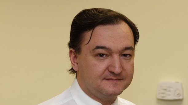 Russian lawyer Sergei Magnitsky pictured on December 29, 2006 in Moscow. The tax evasion case against Magnitsky, who died in pre-trial detention in 2009 after accusing interior ministry officials of corruption, has been slammed by legal experts and Western governments.