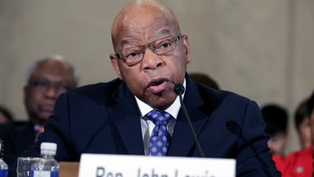 Rep. John Lewis (D-GA) testifies to the Senate Judiciary Committee during the second day of confirmation hearings on Senator Jeff Sessions' (R-AL) nomination to be U.S. attorney general in Washington, U.S., January 11, 2017.      REUTERS/Joshua Roberts - RC1B0B692110