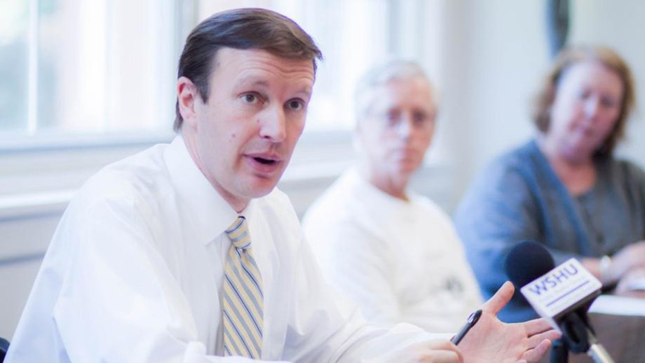 """Connecticut Sen. Chris Murphy thinks removing Infowars was a """"good first step"""" and says tech giants should censor more content."""