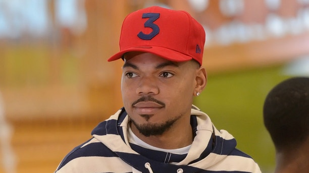 GURNEE, IL - JUNE 21:  Chance the Rapper attends the Great Wolf Lodge Illinois grand opening celebration at Great Wolf Lodge Illinois on June 21, 2018 in Gurnee, Illinois.  (Photo by Daniel Boczarski/Getty Images)